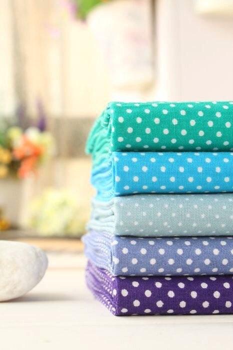5 шт. 48 см* 50 см синий хлопок Ткань для шитья DIY лоскутное шитье ткань дети постельные принадлежности ткань тильда кукольная ткань