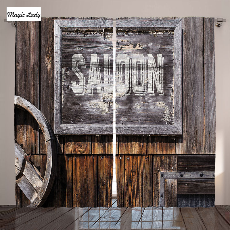 Home Decorators Collection Coupon Free Shipping: Curtains Rustical Decor Collection Saloon Aged Wooden Sign