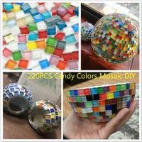 220PCS Assorted Colors Mosaics Classico Glass Mosaic Tiles DIY Mosaic Puzzl