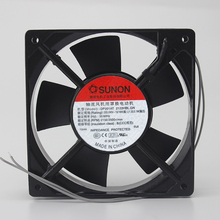 Original SUNON 12025 12CM 220V DP201AT-2122HBL.GN 120 long * 120 wide * 25 thick double ball cooling fan new original ebm papst dv4118 2npu dc48v 0 46a 120 120 38mm 12cm ip54 cooling fan typ4118n 6xmv 4 5w typ4118n