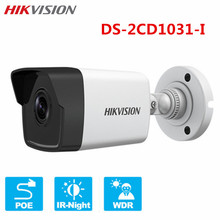 Hikvision 3MP POE IP Camera DS-2CD1031-I HD H.265 Onvif IP66 IR 30m WDR 3D DNR CCTV Surveillance Bullet Outdoor Night Camera(China)