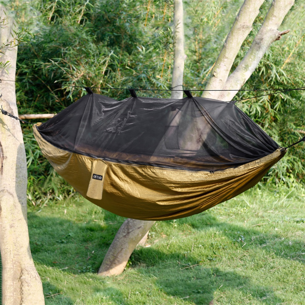 Online buy wholesale military jungle hammock from china for Net hammock bed