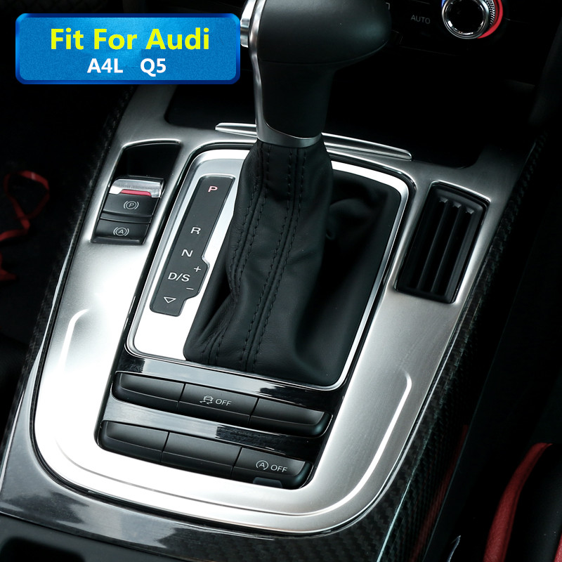 Interior Console Gear Box Panel Cover Trim For Audi A4 S4