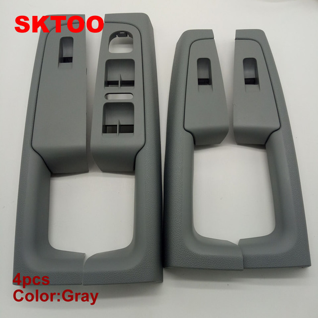 Sktoo Grau Fur Skoda Superb Innen Turgriff Armlehne Switch Box In