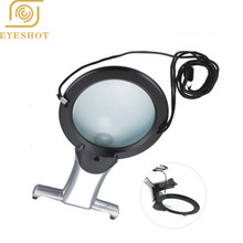 Lamp Magnifier with light Embroidery 2X Hands Free 5X Lens for Embroidery Magnifying Glass with LED Loupe for Embroidery 1 5x 2x 2 5x 3 5x hands free magnifier magnifying glass for operation handcraft jewelry watch repair dental
