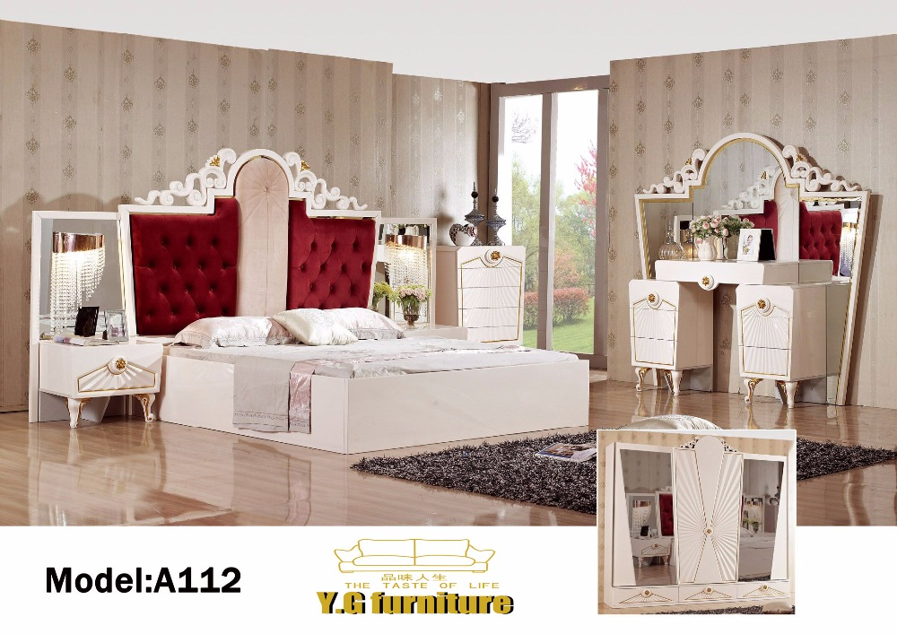 US $2899.0 |Muebles De Dormitorio Top Fashion 2018 Free Shipping !! Fashion  Modern Bedroom Set Furniture Good Quolity Promotion Cheap Price-in Bedroom  ...