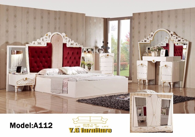 US $2899.0 |Muebles De Dormitorio Top Fashion 2018 Free Shipping !! Fashion  Modern Bedroom Set Furniture Good Quolity Promotion Cheap Price -in ...
