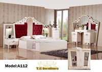 Muebles De Dormitorio Top Fashion 2018 Free Shipping !! Fashion Modern Bedroom Set Furniture Good Quolity Promotion Cheap Price