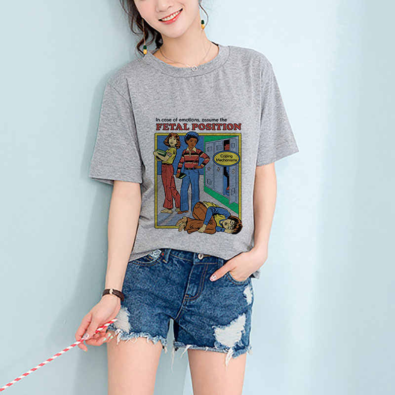 75ea0aef71 Harajuku Grunge Graphic Tees Women Plus Size Summer Tops 2019 T Shirt  Fashions Vintage Kawaii Funny Shirts Ladies Streetwear