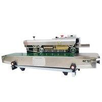 100% garantie SF-150 Kontinuierliche Band Abdichtung Maschine aluminium folie tasche sealer