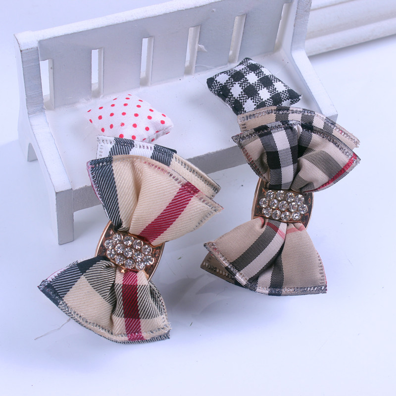 Cute British style Retro Kids Baby Hair Clip Pin Bows Hairpin Fashion Accessories For Girls Children Hairclip Barrette Headdress baby cute style children accessories hairpins rabbit fur ear kids girls barrette lovely hair clip