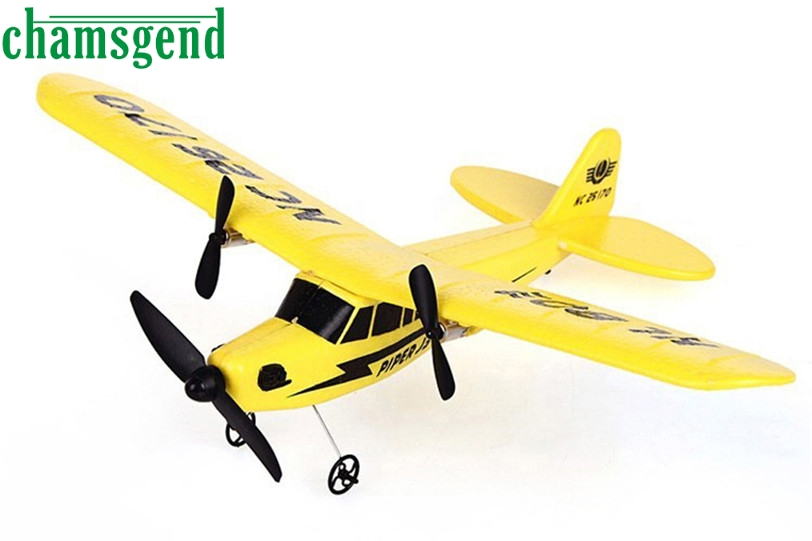 ФОТО CHAMSGEND Best seller high quality HL-803 RC Remote Control Helicopter Plane Glider EPP Foam 2CH 2.4G Toys Dec606