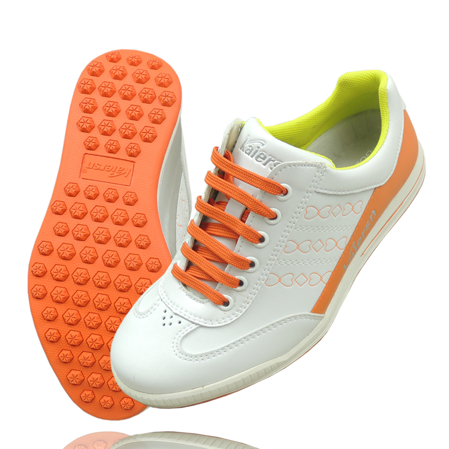 Women's golf shoes Leather Golf shoes slip resistant sports shoes Waterproof golf shoes golf shoes women golf shoes golf cowhide slip resistant waterproof sport shoes genuine leather rubber sole