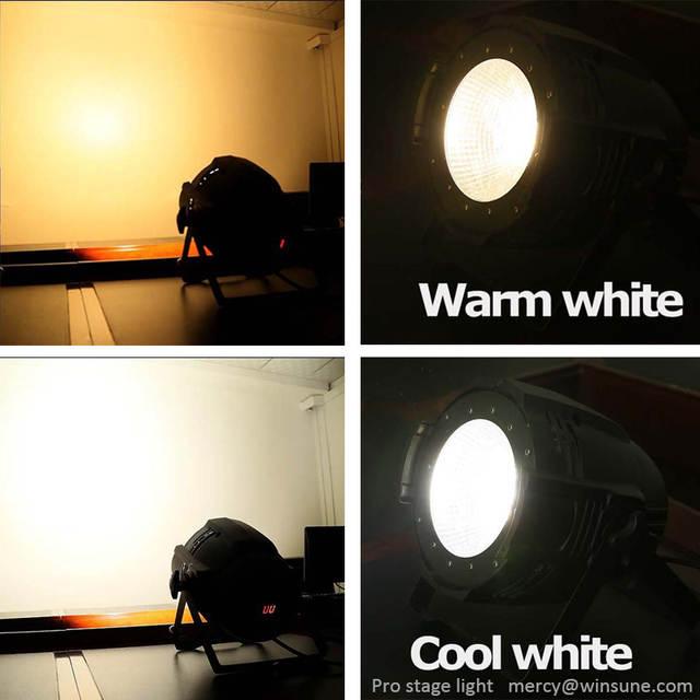 Online Shop Compact LED Flood Par Light COB 2in1 100w WW/CW 3200K