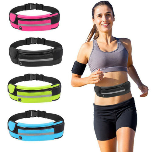 Waterproof Sport Waist Belt Bum Pouch Fanny Pack Camping Running Hiking Key Holder Travel Jogging Sports Bag NEW Waist Bum Bag