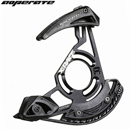 Aoperate MTB Chain Guide System DH downhill bike bicycle chain guide Chain Drop Catcher bike part bicycle chain protector mtb bike chain guide mtb bicycle chain guide bike part bicycle chain protector 1x system single ring round 30 40t oval 30t 38t
