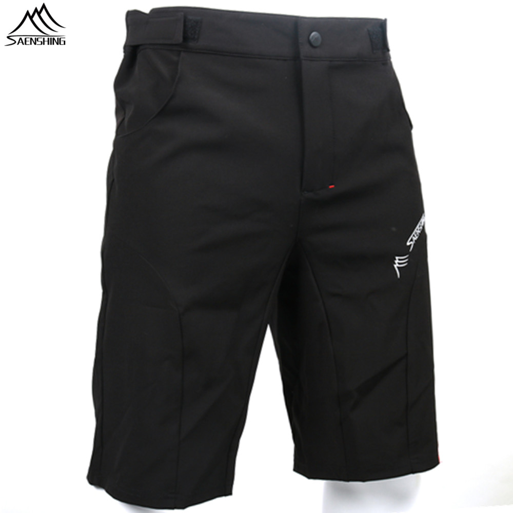 SAENSHING High Quality Downhill Cycling Shorts Men Breathable Mountain Bike Shorts Mtb cycling short Vtt Sport Bermuda Ciclismo