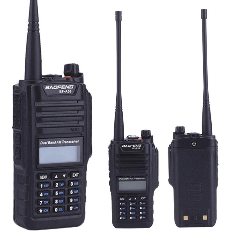 Lastest font b walkie b font font b talkie b font baofeng uv a58 Anti Dust