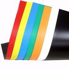 A3 Красочный мягкий резиновый магнитный диск прилипания мягкий белой доски стикер на холодильник