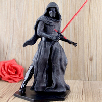 Star Wars Force Awakening 7 Inch Dolls Decorated Dark Warrior With Light Sword Kylo Ren Model Doll Action Figure