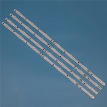 7 مصابيح LED الخلفية قطاع لسامسونج UE32H5000AK UE32H5005AK UE32H5020AK UE32H5030AW UE32H5040AK القضبان عدة التلفزيون LED الفرقة
