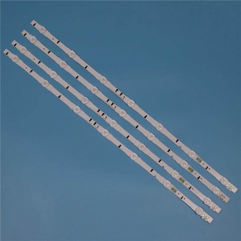 7 Lamps LED Backlight Strip For Samsung UE32H5000AK UE32H5005AK UE32H5020AK UE32H5030AW UE32H5040AK Bars Kit Television LED Band