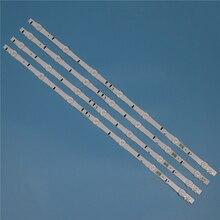 7 lampes LED rétro éclairage bande pour Samsung UE32H5000AK UE32H5005AK UE32H5020AK UE32H5030AW UE32H5040AK barres Kit télévision LED bande