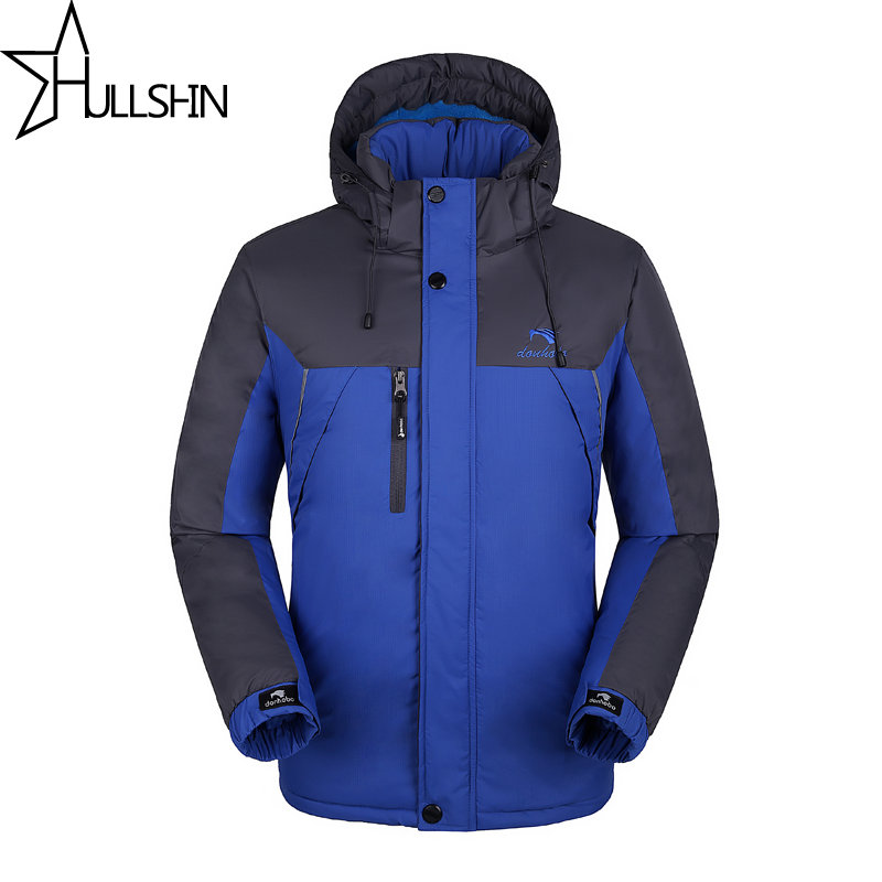 ФОТО 2017 Winter Brand Men Down Jacket Hood With Cashmere Plus Size 4XL Winter 100% Cotton Jacket Quality Fashion Men's Coat WQ9901