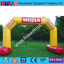 Commercial PVC Inflatable Arch for advertising events(Free blower+repair kit) inflatable sky dancing tube man ghost chef outdoor waving air dancing man for advertising celebration without fan blower