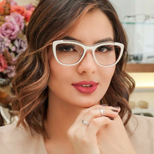XYKGR2019 retro black leopard glasses frame ladies personality optical computer womens simple fashion