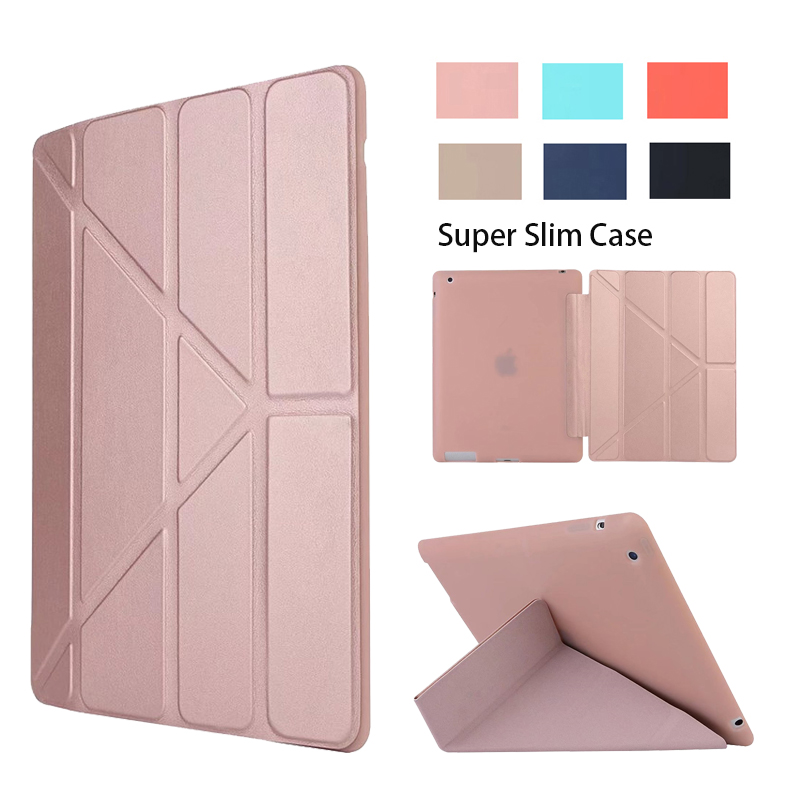 For Apple iPad 4 case Shockproof Case Cover For iPad Retina Smart Case Slim Designer Tablet PU For iPad 2/3/4 Case