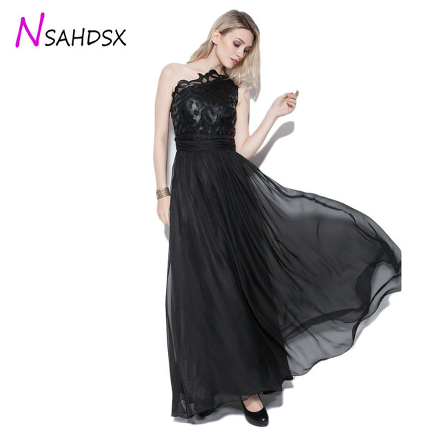 2019 Rushed dress Maxi Dress Ukraine Dress Summer New Shoulder Stitching Long Banquet Runway Evening Party Plus Size Vestidos