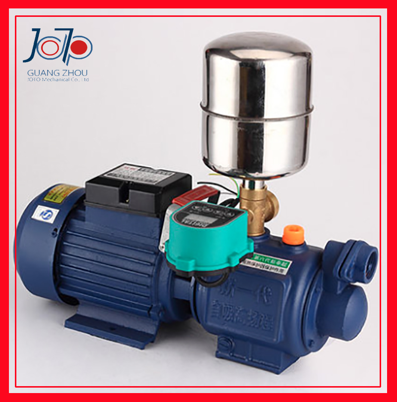 1 8kw Cast Iron Pump Head Intelligent Automatic Self priming Screw pump With Pressure Tank For