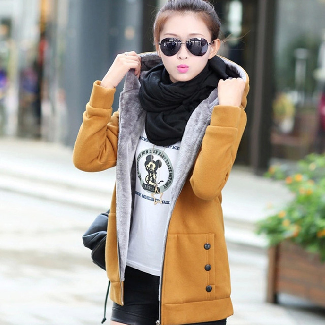 Fashion Hoodie – Padded Hooded Jacket