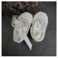 Brand new BLING BLING BABY GIRL WHITE PRINCESS BIRTHDAY PARTY SHOES SOFT SOLE INFANT SHOE
