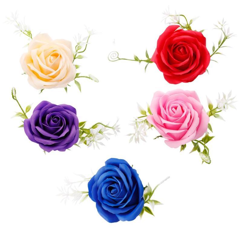 Креативная роза цветок мыло для путешествий мыльные хлопья лепесток тела Парфюмированное Мыло День Святого Валентина украшение для свадьбы подарок Лучшие