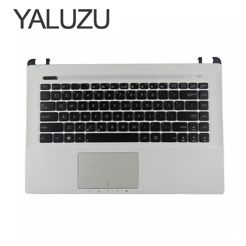 YALUZU NEW For ASUS A45V K45V A85V R400 K45VD A85 R400V English Laptop Keyboard US UPPER SHELL C COVER palmrest top case Frame new for asus u52f u52f bbl5 u52f bbl9 u52f bbg6 palmrest english us laptop keyboard black touchpad cover