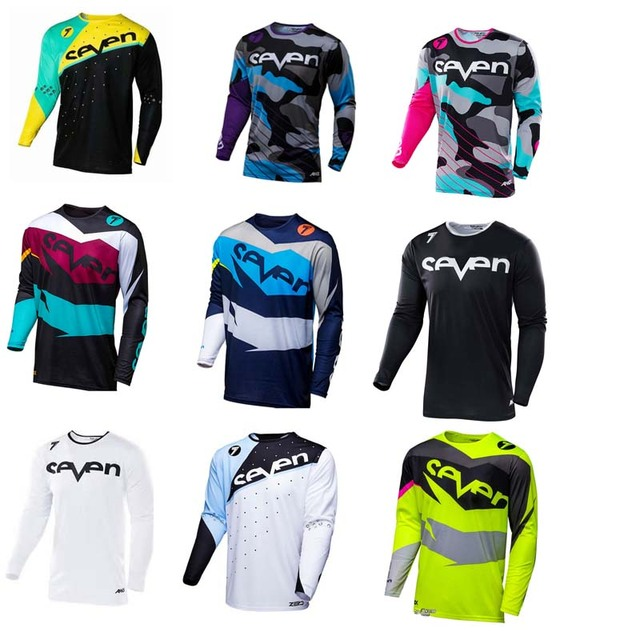2018New Brand New Seven Motocross Jersey Downhil Mountain Bike DH Shirt MX Motorcycle  Clothing Ropa For Men Quick Dry MTB T Shi 2fc0d0297