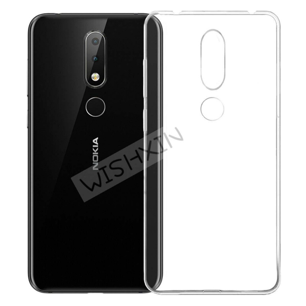 Nokia 6.1 Plus Case Nokia 6.1 Plus 2018 Case 5.8 Soft Silicone Back Cover Phone Case Global Version Nokia 6.1 Plus Nokia6.1 Plus