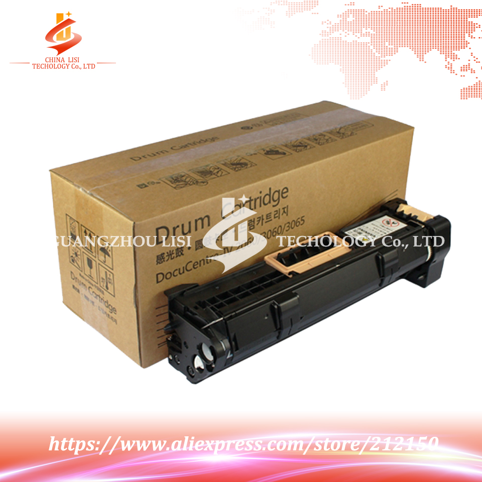 Drum Compatible ALZENIT For Fuji Xerox DC2060 3060 3065 OEM New Imaging Drum Unit Black Color Printer Parts  ty x2060t laser printer reset chip for xerox dc 2060 3060 3065 ct201734 bk 25k free shipping