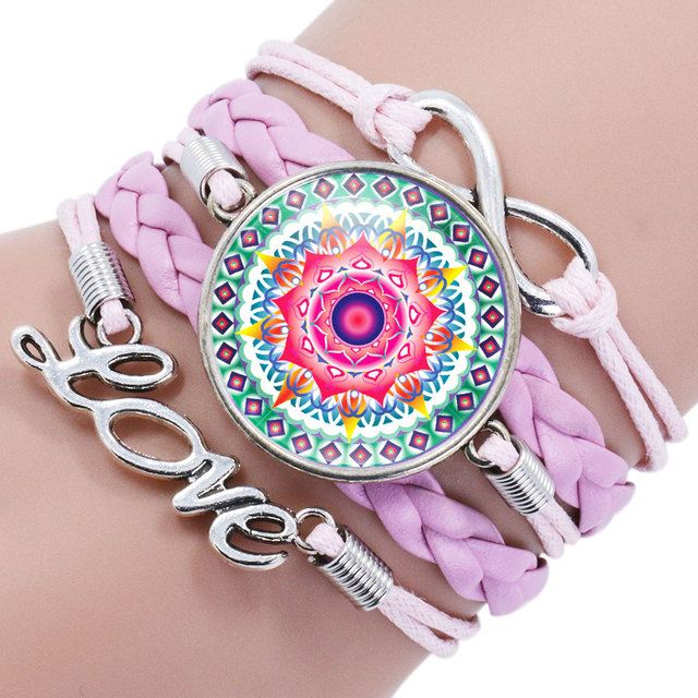 mandala rose bracelets jewellery medium chlobo bracelet heart in