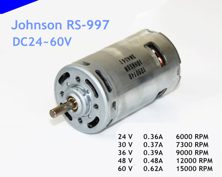 1500w Dc 60v Brushless Motor Bm1424zxf Electric Bicycle Motor
