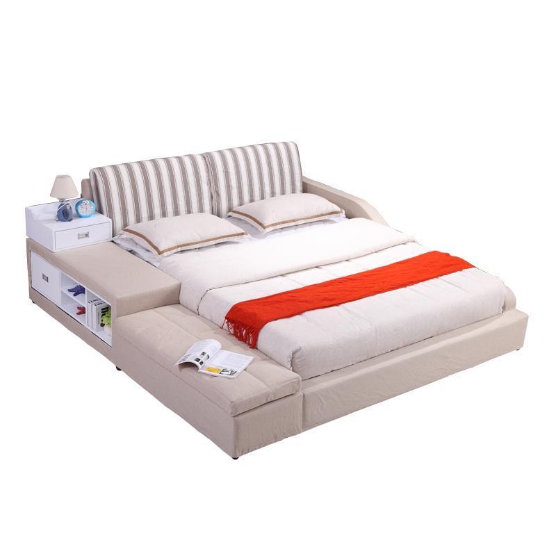Modern Frame Dormitorio Room Yatak Odasi Mobilya Single Recamaras Quarto Kids Leather Mueble Moderna Cama bedroom Furniture Bed