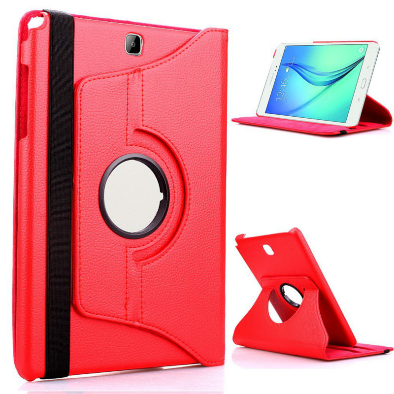 PU Leather Case Stand Cover For Samsung Galaxy Tab A 9.7 SM T550 T555 P550 9.7