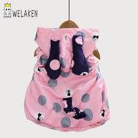 WeLaken Mädchen Jacke 2017 Winter Mit Kapuze Marke Kinder Warme Kleidung Mädchen dicke Weste Outwear Mantel mädchen kostüm Baby Weste
