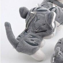 Wholesale 20pcs/Lot Cute Chi Cat Plush Toy Small Pendant Stuffed Animal Key chain Promotion Gift