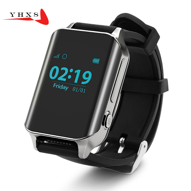 YHXS Smart GPS LBS Tracker Watch for Elderly People Child Wristwatch SOS Call Safe Anti Lost Remote Heart Rate Monitoring Watch 1pcs 2017 new gps tracking watch for kids q610s baby watch lbs gps locator tracker anti lost monitor sos call smartwatch child page 6