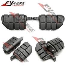 Motorcycle Rear Footrest Foot Pegs For Honda Shadow 1100/VT1100 Kawasaki Vulcan VN200 VN800 VN1500 Yamaha RoadWarrior 96-06