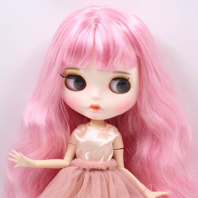 Millie – Premium Custom Blythe Doll with Full Outfit Pouty Face