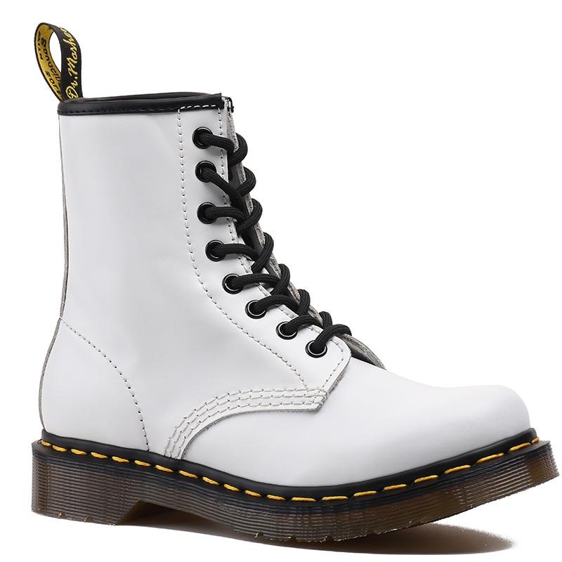 OLPAY Dr martens boots winter shoes men snow boots men